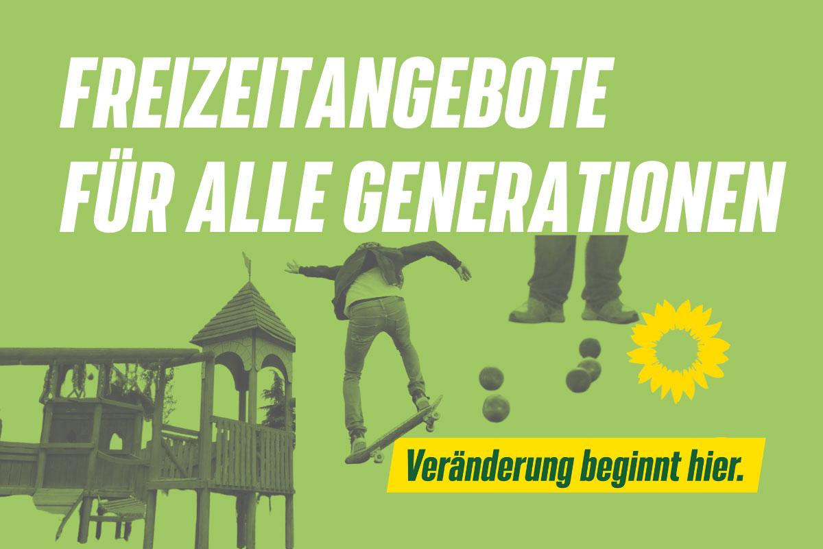 FREIZEITANGEBOTE FÜR ALLE GENERATIONEN